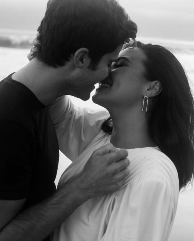 חיוכים ונשיקות (צילום: אינסטגרם, ddlovato)