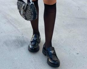 בדרך לגימנסיה: הנעליים האלה של פראדה משתלטות על הפיד