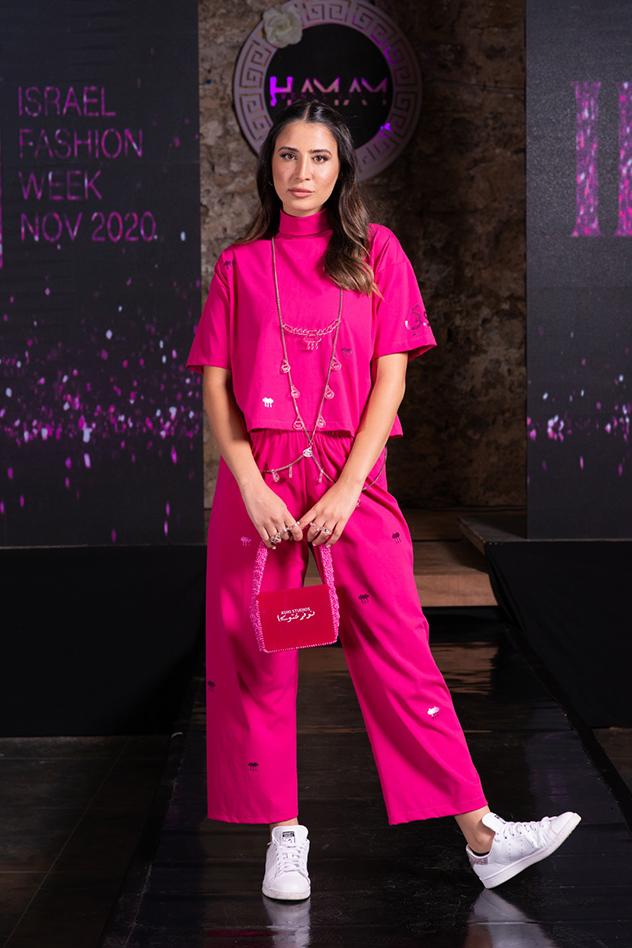 ליאל אלי לובשת קוקי (צילום: רפאל לוי)