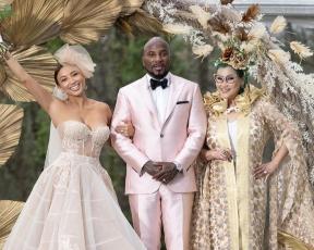 במרכז החתונה המוגזמת הזאת כיכבה שמלת כלה של מעצבת ישראלית