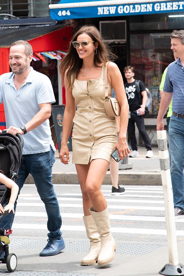 אירינה שייק (צילום: NY1/MEGA/GC Images)