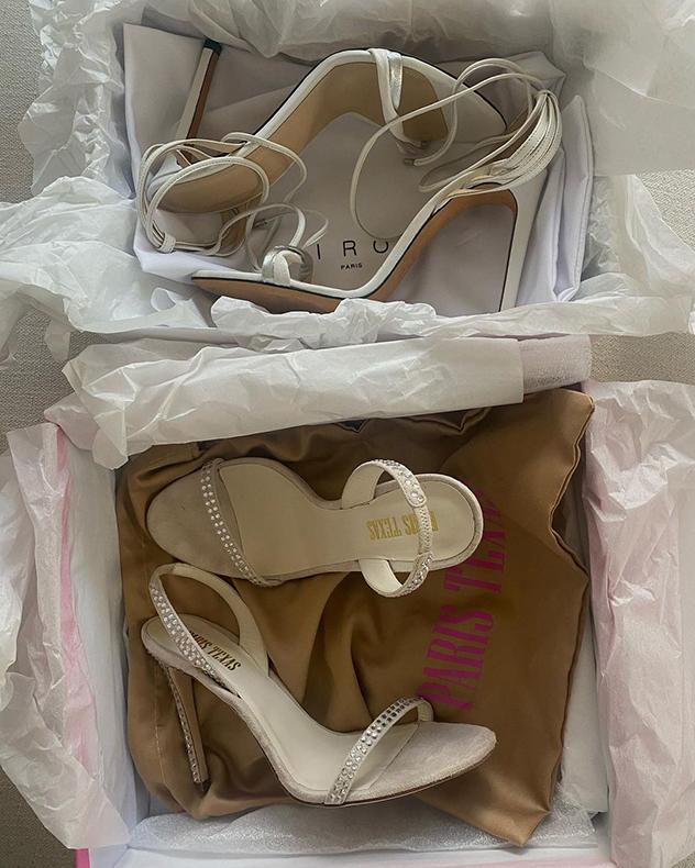 הנעליים השטוחות לא הגיעו (צילום: אינסטגרם, sharonamerlin)