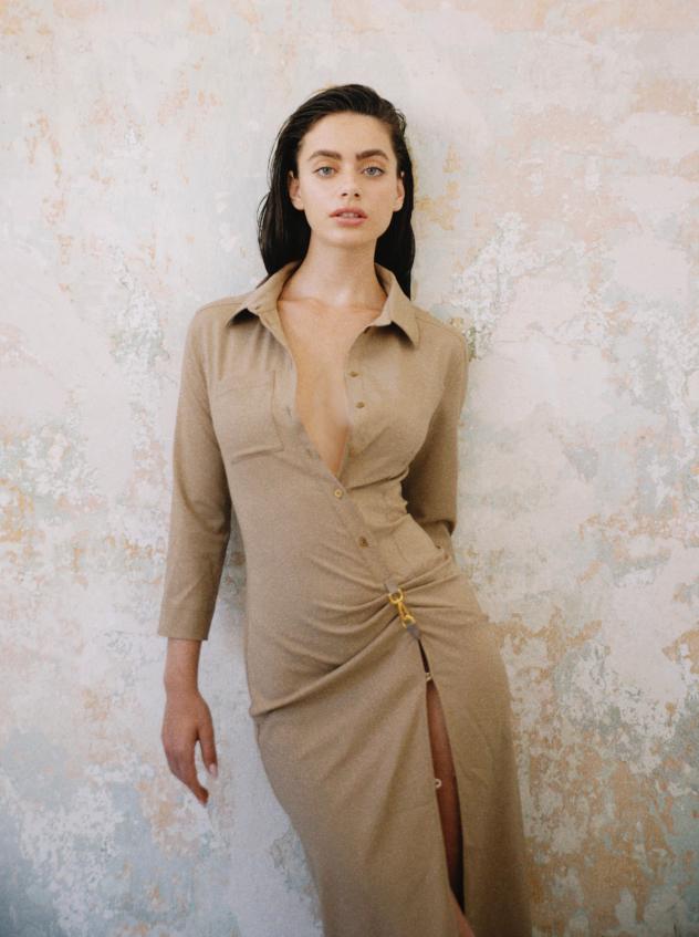 שמלה - ז'אקמוס לפקטורי 54 (צילום: רותם לבל)