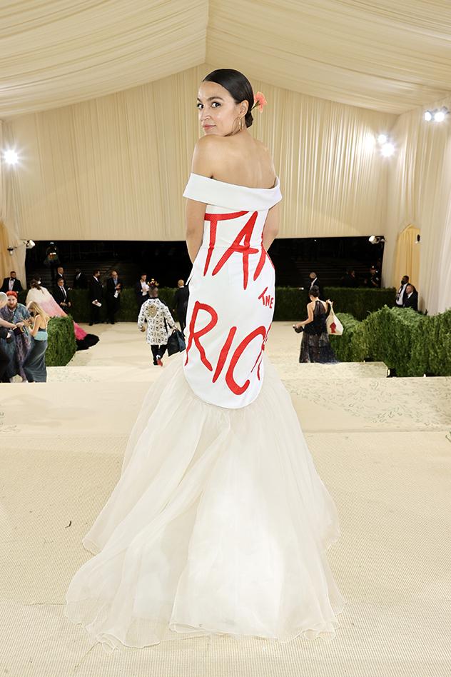 אלכסנדריה אוקיו-קורטז (צילום:  Jamie McCarthy/MG21/Getty Images for The Met Museum/Vogue )