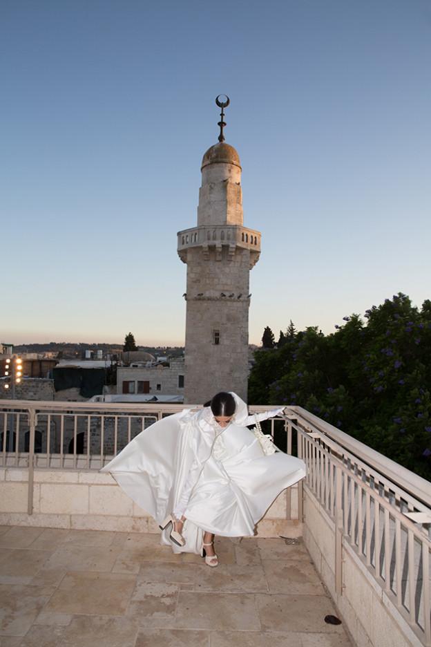 חתונה באווירת ירושלים  (צילום: דודי דיין)