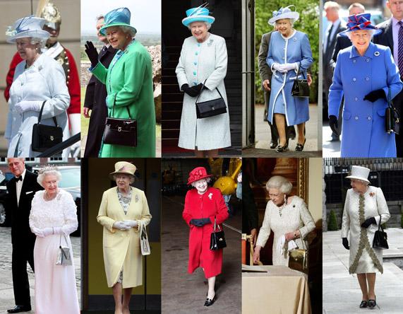 המלכה אליזבת' והתיקים שלה | צילומים: גטי אימג'ס