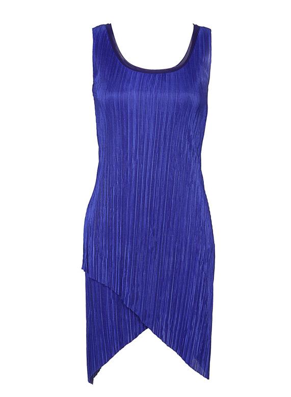שמלה כחולה של דורין פרנקפורט