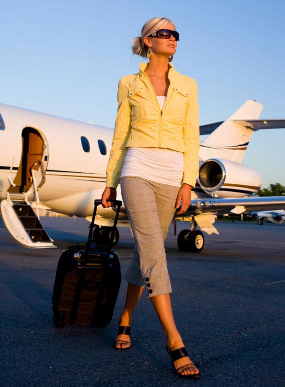 לעלות לטיסה בסטייל | צילום: istock photo